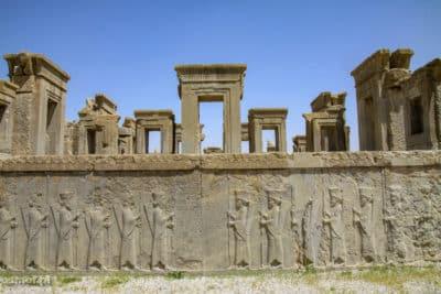 Ruiny pałacu w Persepolis
