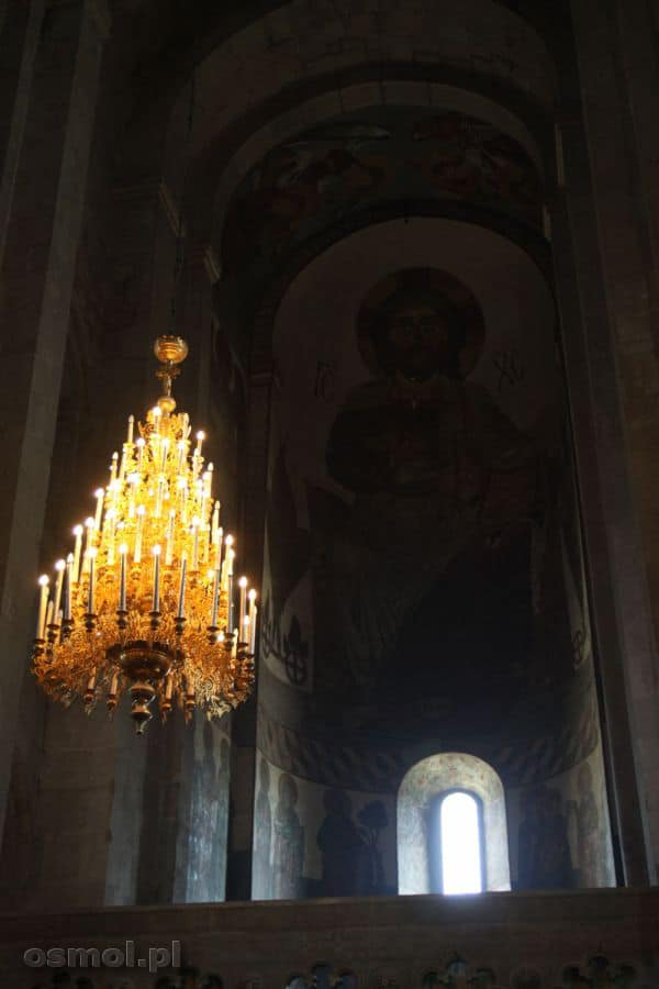 Sweti Cchoweli fresk nad ołtarzem