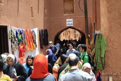 Abyaneh tłumy turystów w piątek