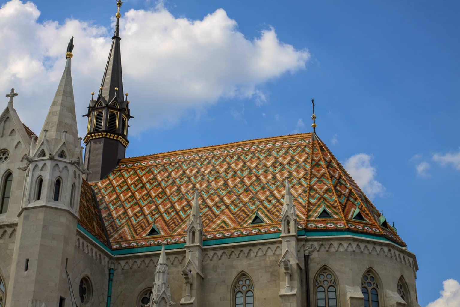 Budapeszt dach kościoła