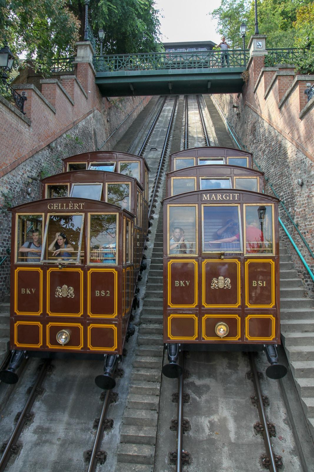 Funicular w Budapeszcie