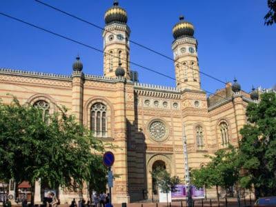Fasada Wielkiej Synagogi w Budapeszcie