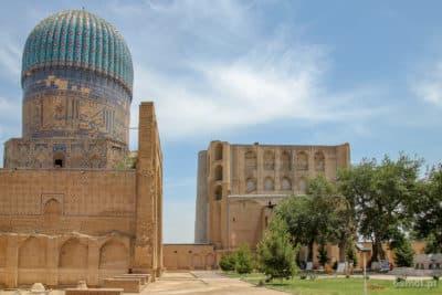 Bibi Chanum Samarkanda - pozostałości dawnej świetności miasta