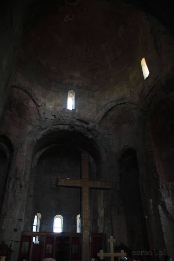 Wnętrze monastyru Dżwari