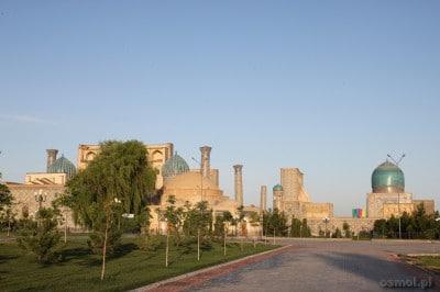 Registan. Samarkanda o świcie