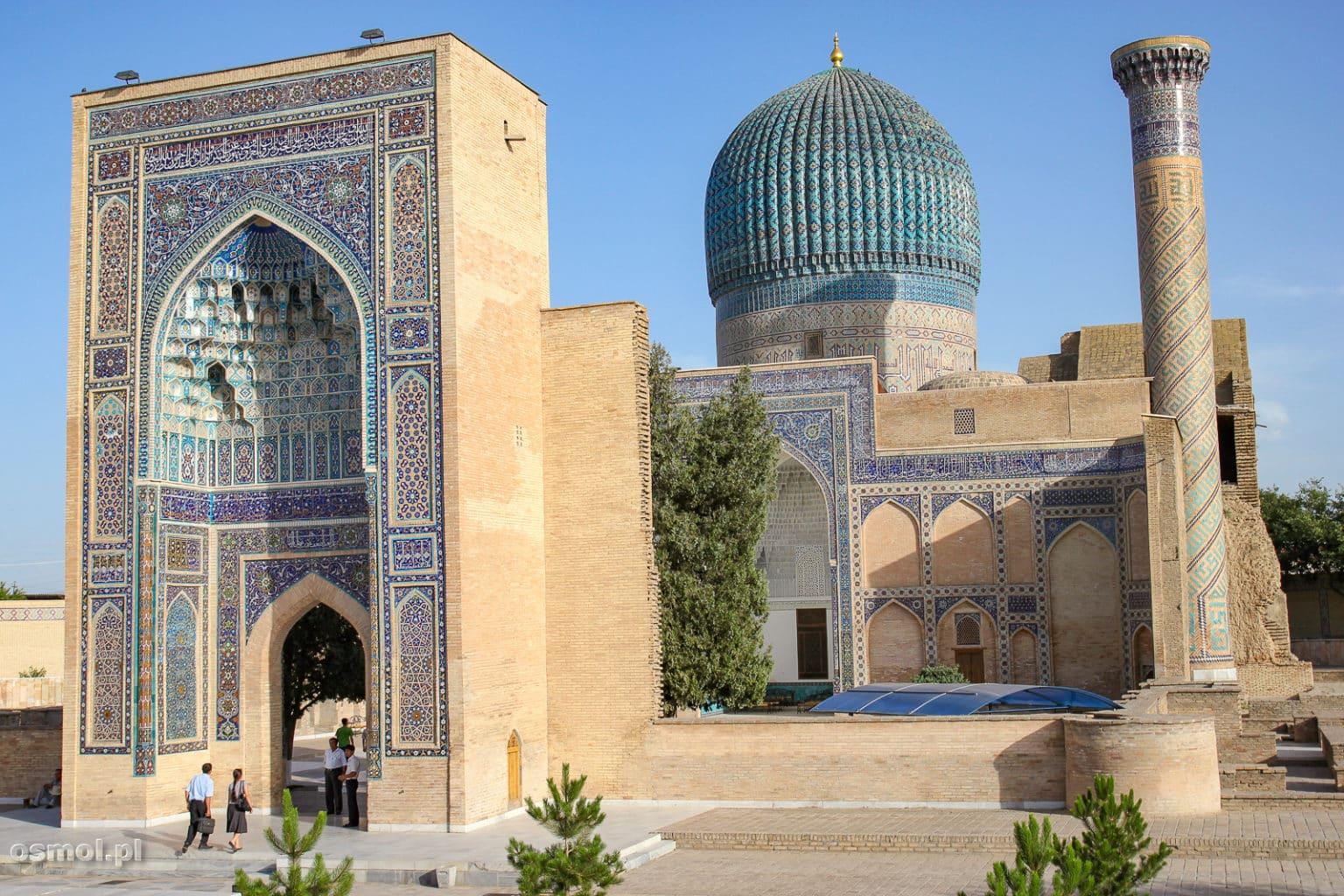 Wejście do Gur-e Amir