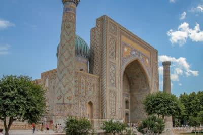 Registan - najpiękniejszy kompleks w Samarkandzie