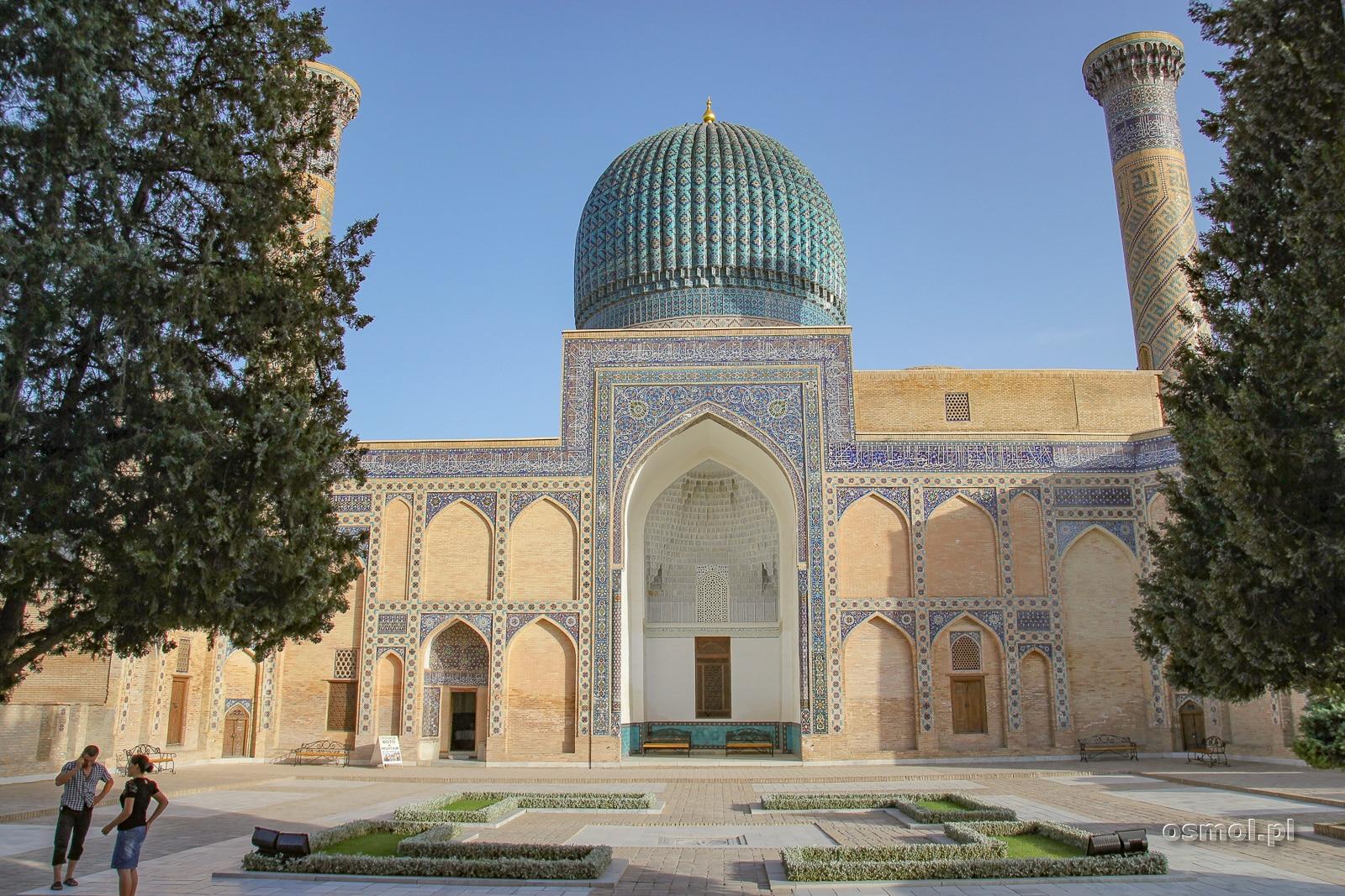 Gur-e Amir. Tu pochowany został Amir Timur