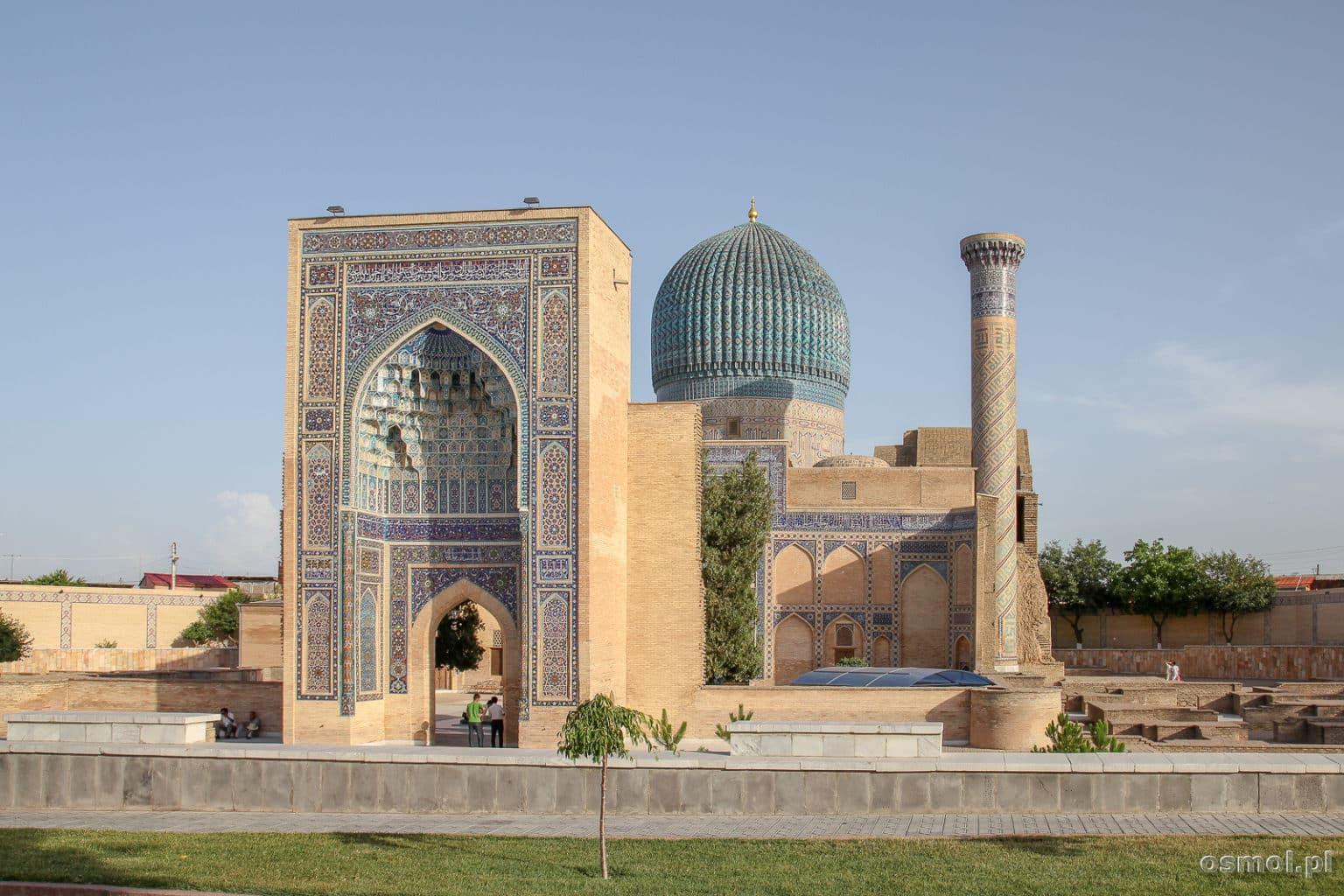 Gur-e Amir w Samarkandzie