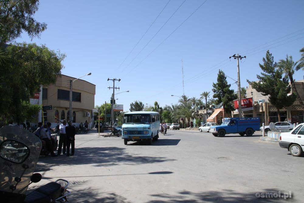 Tabas jedna z ulic miasta