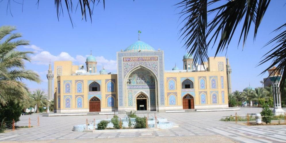 Tabas Iran. Meczet
