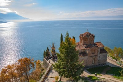 Ochryda - Cerkiew nad Jeziorem Ochrydzkim