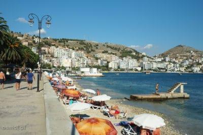 Saranda Albania - plaża