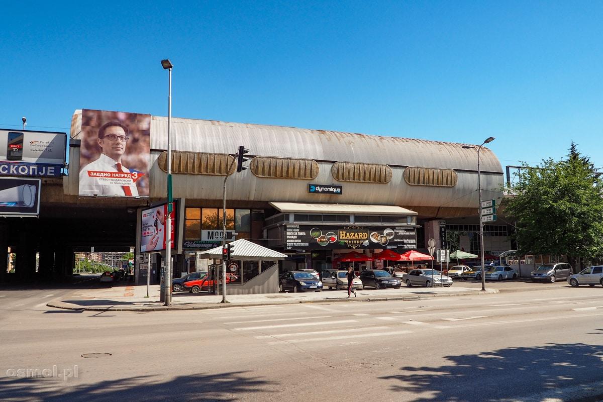 Dworzec kolejowy i autobusowy w Skopje