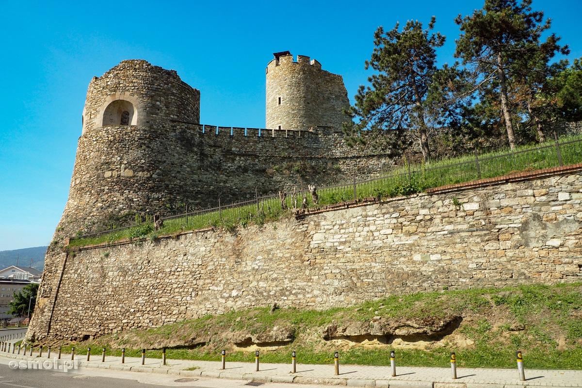 Skopsko Kale czyli zamek w Skopje