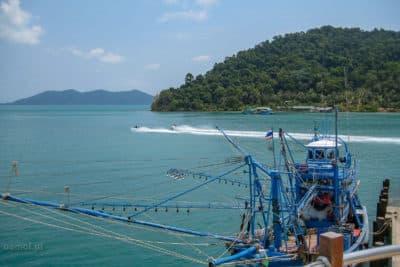 Kuter rybacki w Tajlandii
