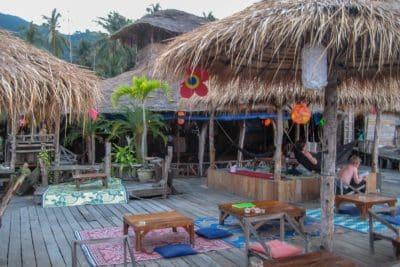Jeden z wielu barów na wyspie Koh Chang