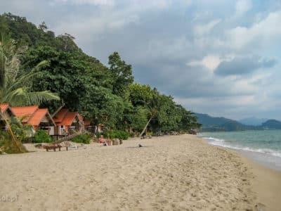 Plaża na wyspie Koh Chang w Tajlandii