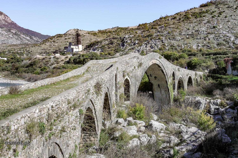 Most Mesi koło Szkodry. Albania