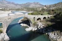Most Mesi blisko Szkodry