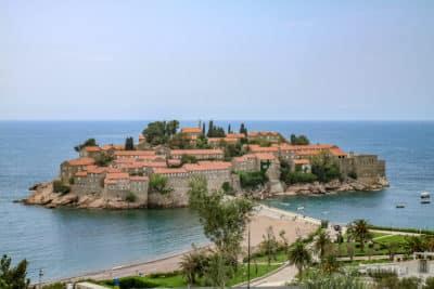 Wysepka Święty Stefan w Czarnogórze