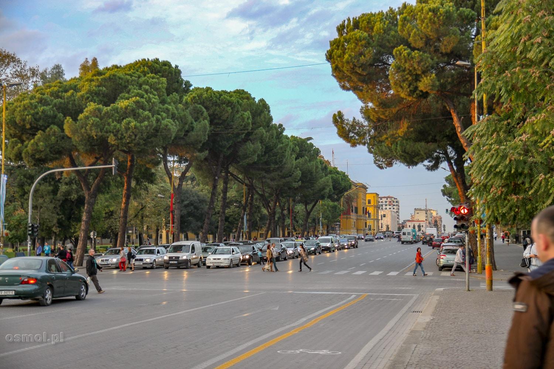 Ulica w Tiranie