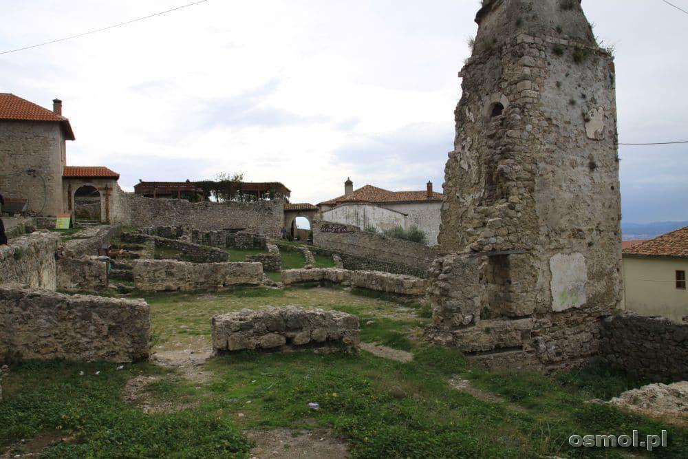 Po oryginalnym zamku pozostały tylko fundamenty