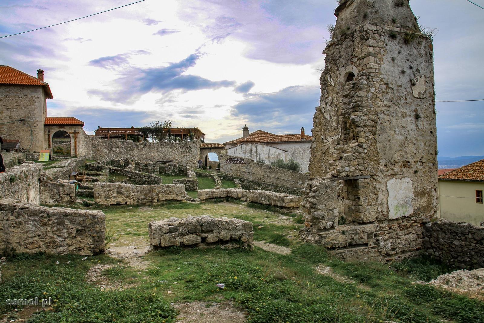 Ruiny zamku w Kruji.