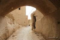 Uliczka w Kharanaq
