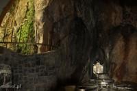 Wnętrze świątyni w Czak Czak Iran