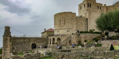 Zamek Skanderbega w Kruji