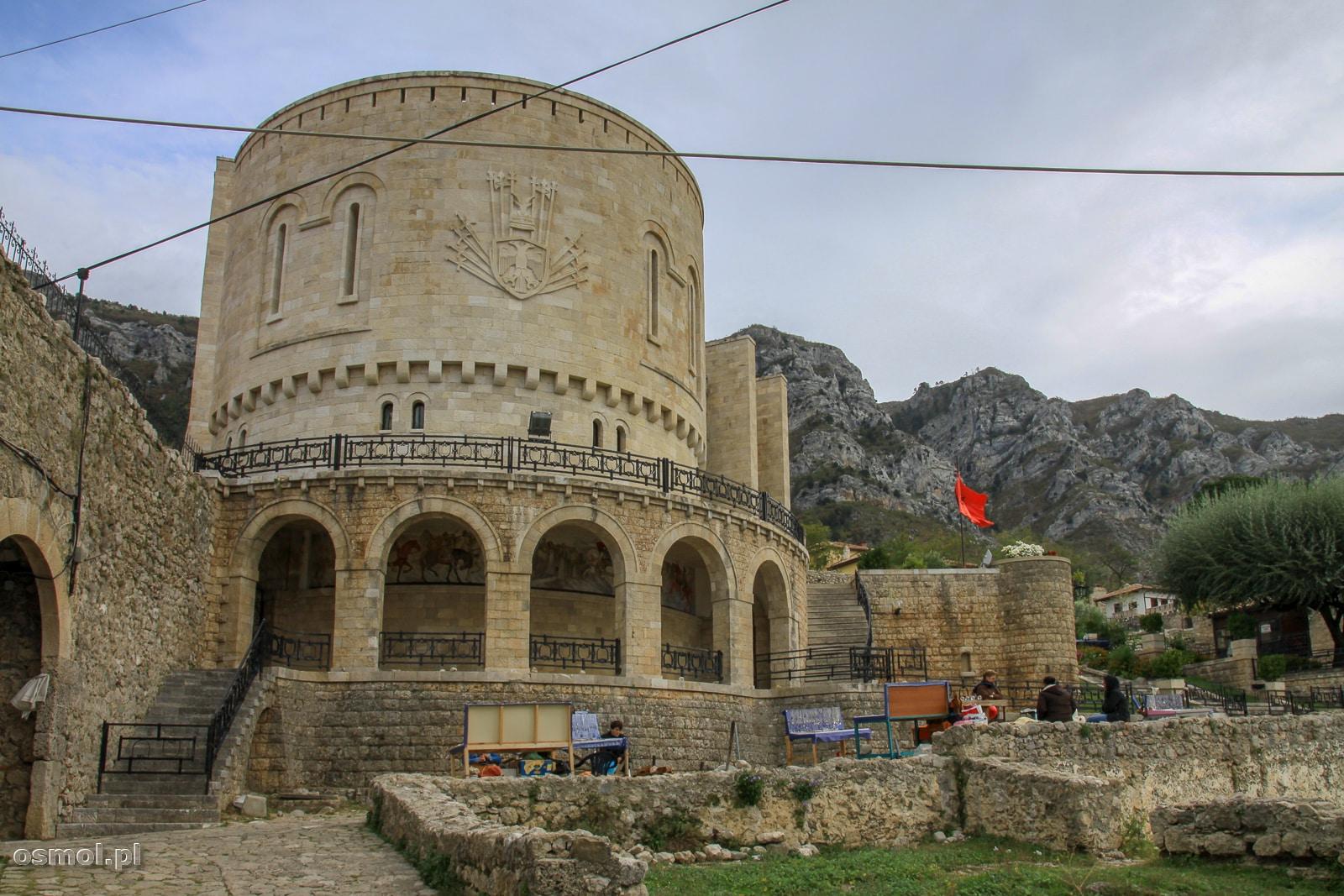 Muzeum Skanderbega na zamku w Kruji
