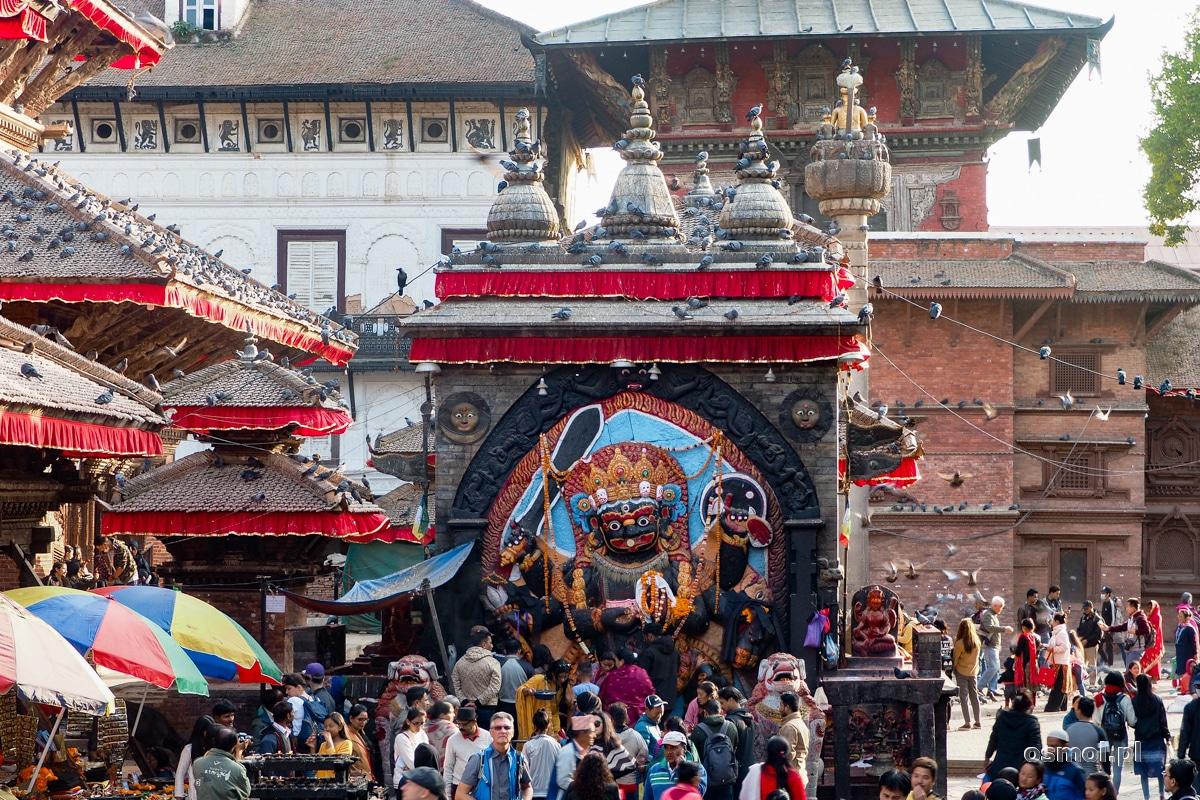 Świątynia Kala Bhairav w Kathmandu