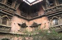 Rzeźby okien w Katmandu to istne arcydzieła