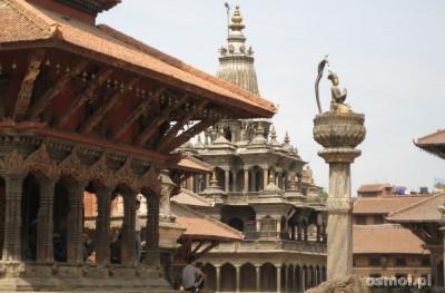 Patan Nepal. Dolina Katmandu