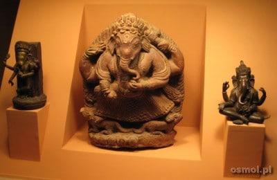 Jeden z eksponatów w muzeum w Patanie