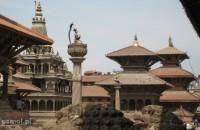 Patan panorama placu królewskiego