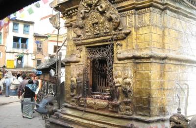 Jedna ze świątyń na terenie Swayambhuunath