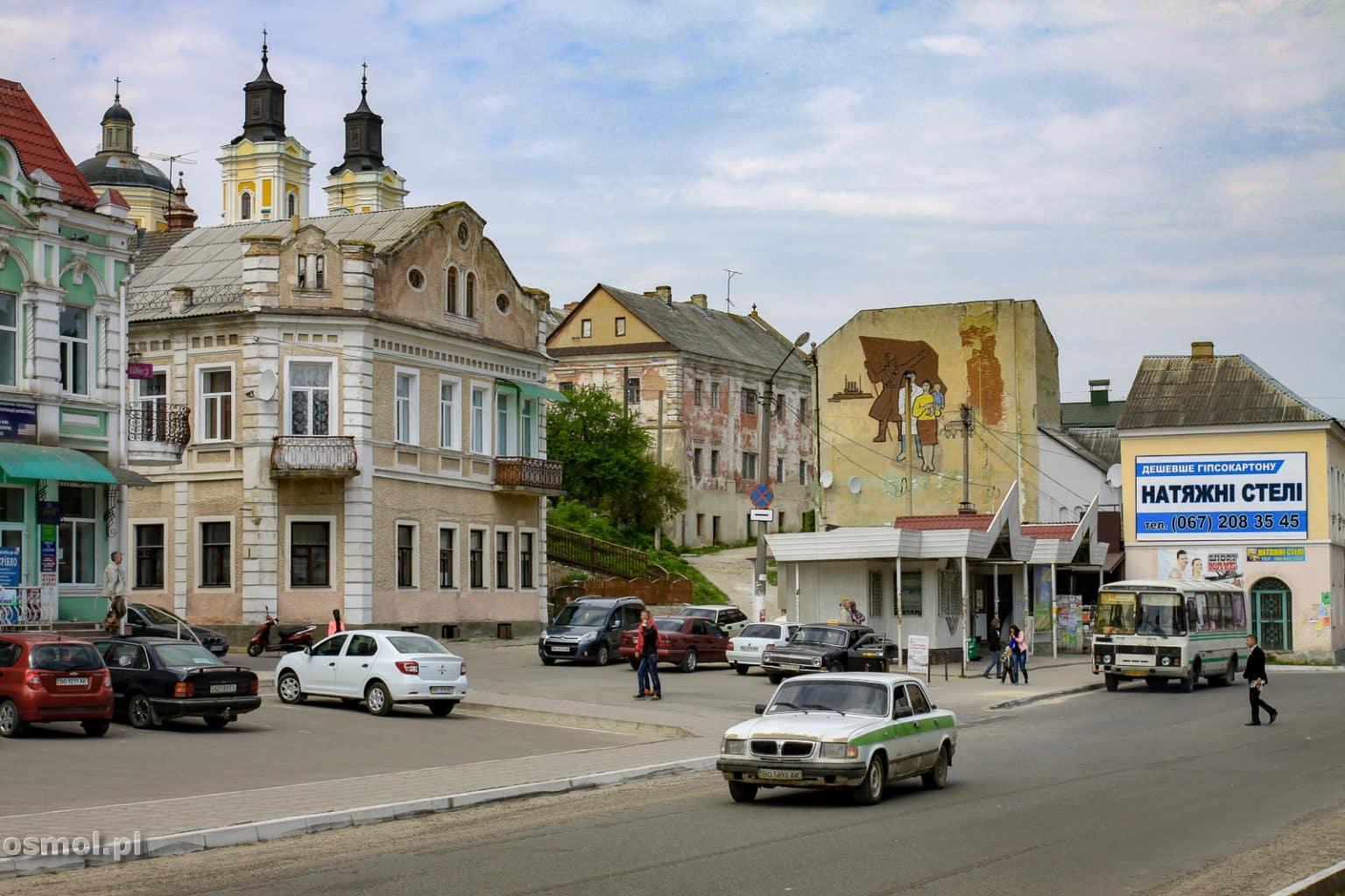Krzemieniec jest mieszanką pozostałości po Polsce i sowieckich budynków, które pasują do miasta jak pięść do nosa. Ale można tu też spotkać ciekawy street art
