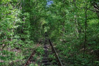 Klewań Tunel miłości