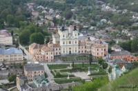 Panorama Krzemieńca. Widok na stare centrum