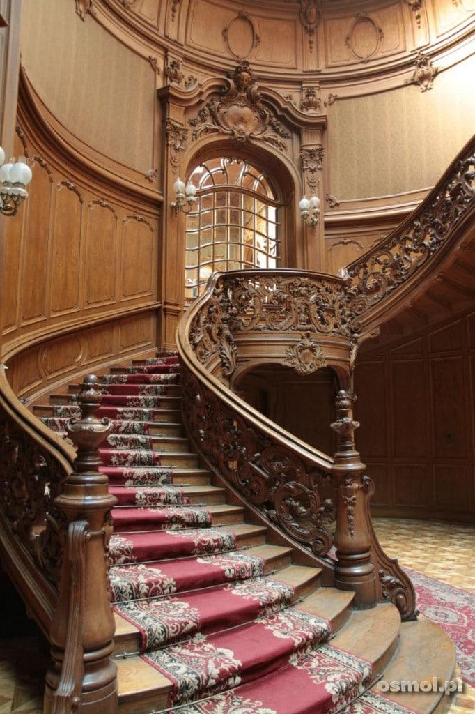 I jeszcze jedno ujęcie schodów w Kasynie we Lwowie. Widać, że bawiła się tu szlachta! :)