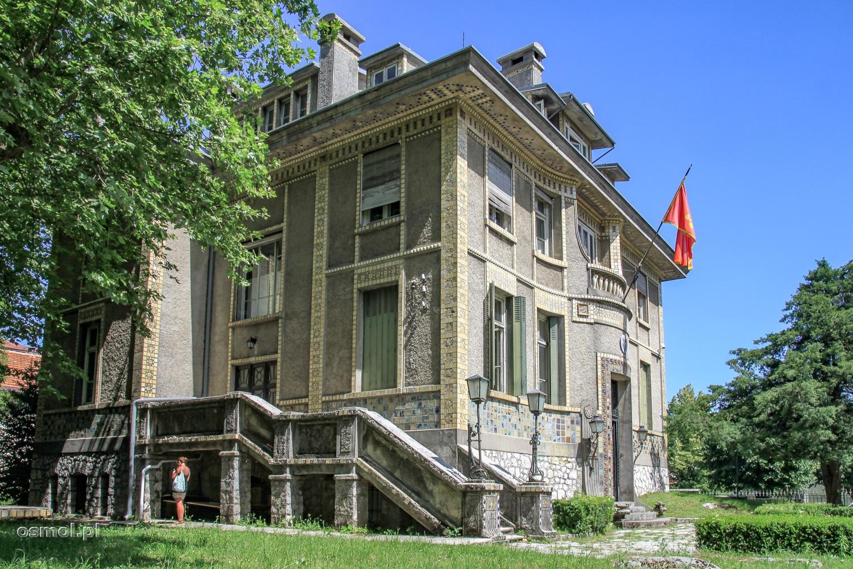 Cetinje ambasada Francji - Czarnogóra