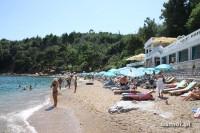 Plaża w Budwie. Czarnogóra