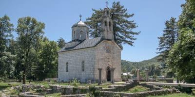 Cetinje cerkiew na Ćipurze