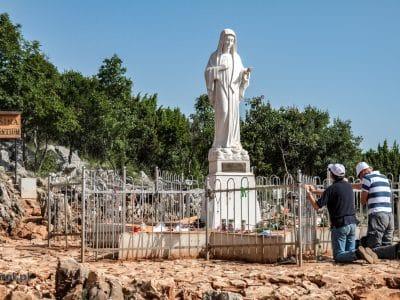 Góra Objawień w Medjugorie - miejsce objawień Matki Boskiej