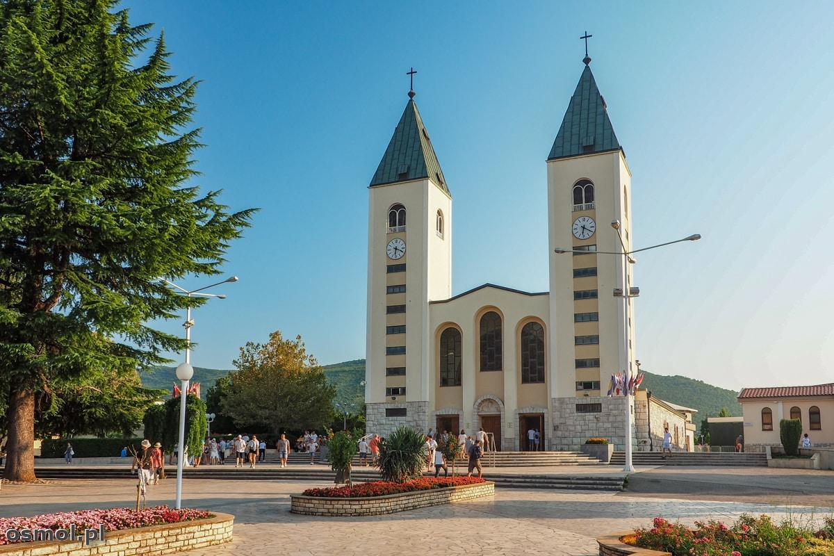 Medjugorie. Kościół świętego Jakuba