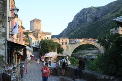 Mostar główna ulica handlowa