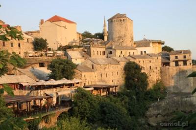 Widok na starą część Mostaru