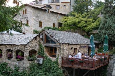 Restauracja w Mostarze